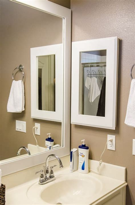 update bathroom mirror in search of how to update an old medicine cabinet with a