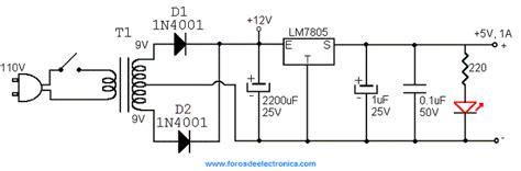 fuente de alimentaci n regulable diagrama de fuente de voltaje 5v wiring diagrams
