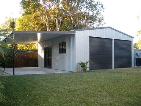 Sheds Australia by Domestic Custom Garage Sheds Brisbane Affordable Sheds