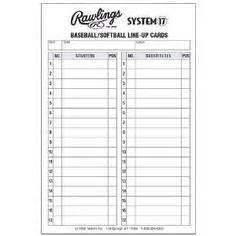 league lineup card template baseball lineup card baseball cards and baseball teams