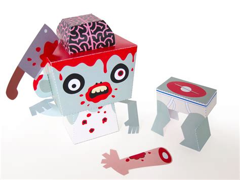 Paper Toys - craft tutorials handmade toys printable crafts
