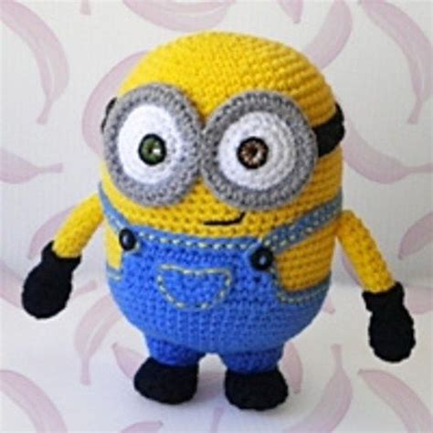 pattern crochet minion minion crochet bobs and the minions on pinterest