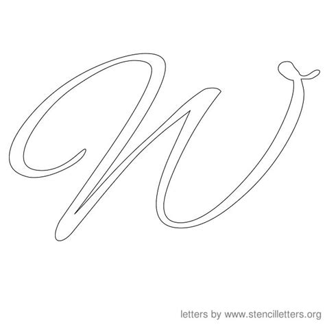 cursive alphabet template 패턴 on cursive letters cursive and stencils