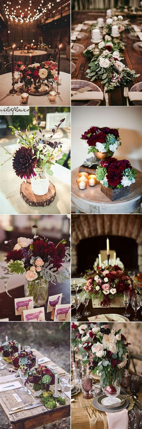 burgundy wedding table centerpieces 25 best ideas about burgundy floral centerpieces on