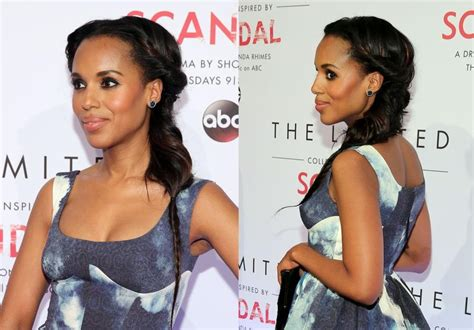 kerry washington goddess braids kerry washington at the limited quot scandal quot collection