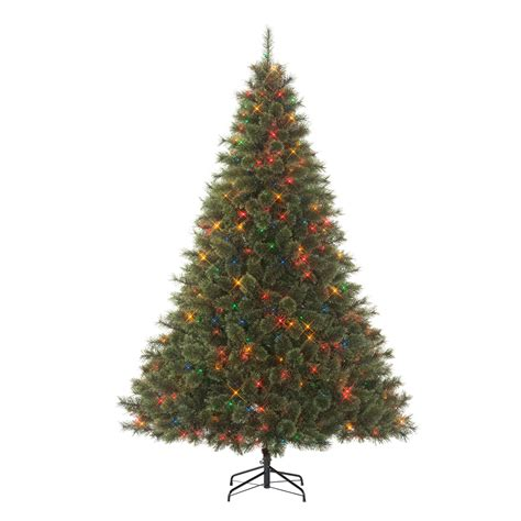 searscom white christmas tree donner blitzen incorporated 7 5 westchester deluxe pine pre lit tree with