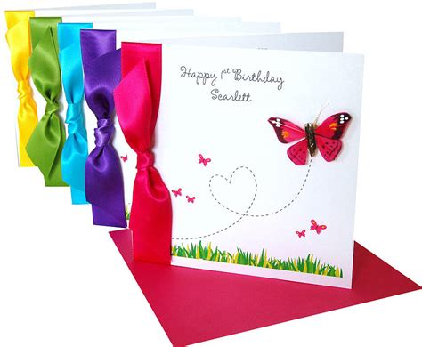 Handmade Birthday Card Design - flutterby fancies butterfly birthday card by made with