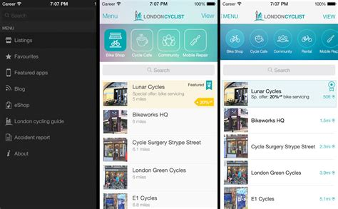 app design london announcing new must have app for london s cyclists