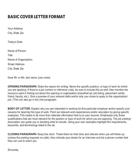 simple cover letter beautiful sample cover letters for employment