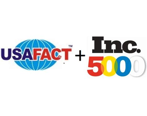 Usafact Background Check Usafact Listed With Inc Magazine S 5000 Fastest Growing Companies In America