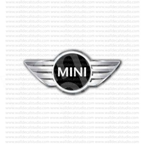 Soho Stiker Emblem Skull Cooper from 4 50 buy mini cooper emblem sticker at print plus in