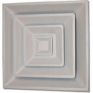 ceiling air vent speedi grille 24 in x 24 in drop ceiling t bar 3 cone