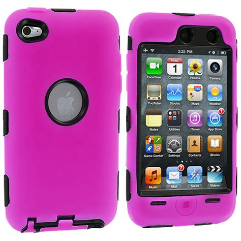 Ipod Accessories 3 by Deluxe Color Black 3 Skin For Ipod Touch 4