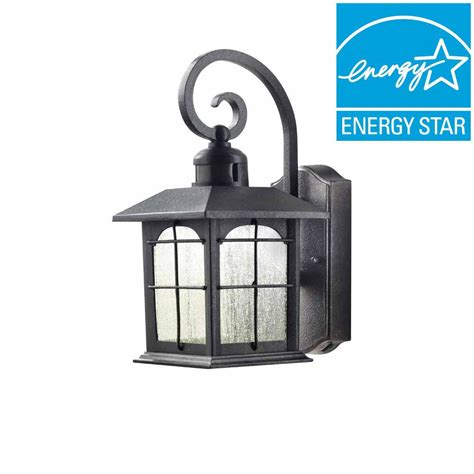 Home Decorators Collection Aged Iron Motion Sensing Outdoor Lights Sale Uk