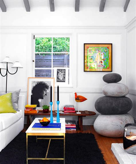 Small Colorful Living Room by Small House Design With Colorful Space Home Design And