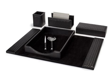 Must Haves For Office Desk Executive Riviere Desk Set A Must For Jet Business Trips And A Portable Luxury Office