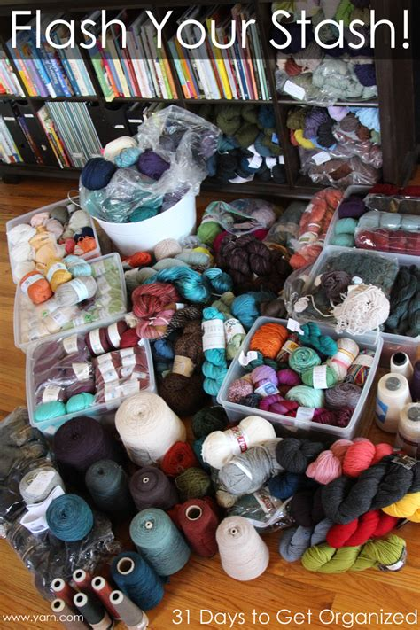 stash knits webs yarn store 187 31 days to get organized flash