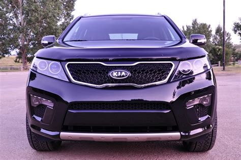 Kia Sorento Aftermarket Black Kia Sorento Sx 2012 With Aftermarket Led Lights