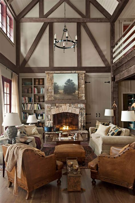 classic country living room decor