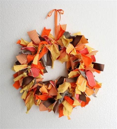 Handmade Fall Decorations - unique handmade diy gift ideas family