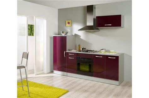 meubles de cuisine brico d駱ot set cuisine framboise meuble de rangement pas cher