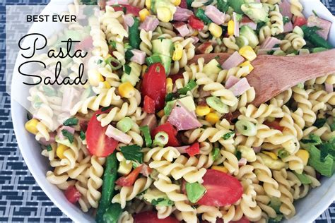pasta salad with spaghetti noodles best ever pasta salad recipe mum s lounge