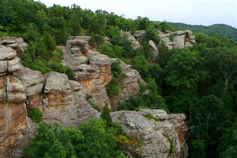 Garden Of The Gods Park Illinois Shawnee National Forest An Illinois Natlforest Located