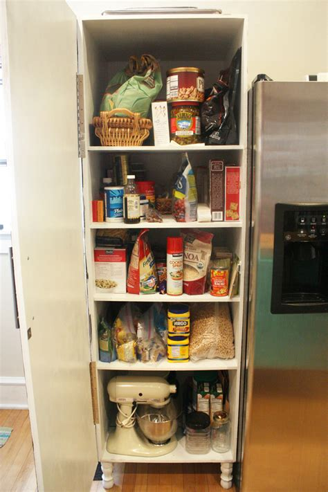 how to make a pantry out of a bookcase how to build a kitchen pantry cabinet plans home design