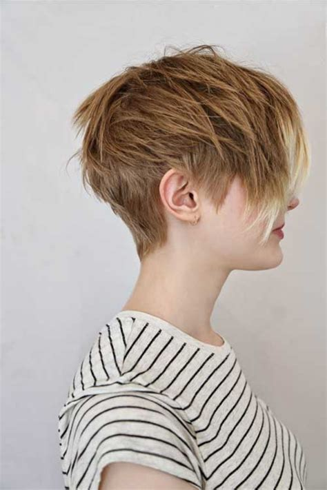 photo gallery of womens hair cut on neck 25 short layered pixie haircuts hairstyles haircuts