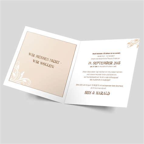 Hochzeitseinladung Muster by Hochzeitseinladungen Muster Im Trend