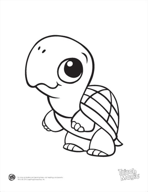 printable coloring pages of baby animals leapfrog printable baby animal coloring pages turtle