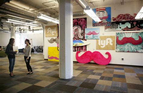 office space a look inside lyft s new headquarters sfgate