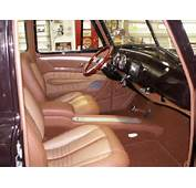 1953 Chevrolet Truck Leather Custom Interior Interiors By Shannon