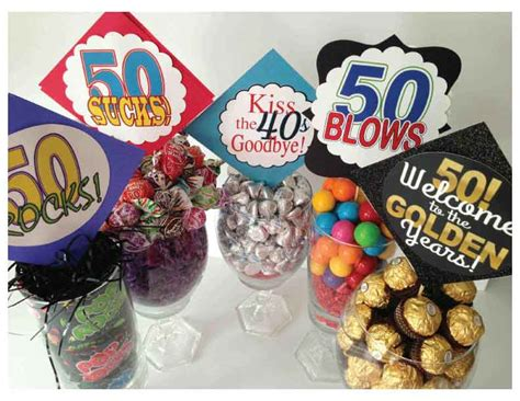 christmas ideas for 50 year old woman clever centerpiece ideas for milestone birthdays use these ideas for 30 40 50 year