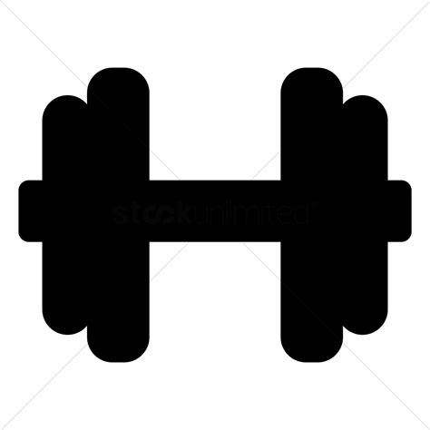 Dumbbell Sculpture Black Clipart Dumbbell Pencil And In Color Black Clipart