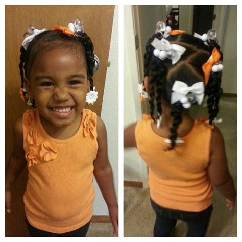 children bubbles hairstyles orange and white mixed baby hairstyles miyah hair