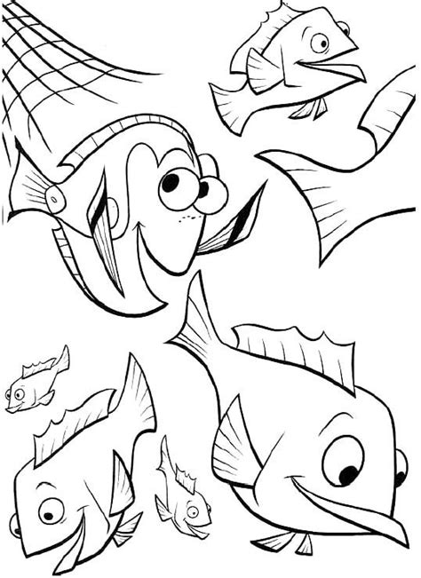 dory fish coloring pages dory fish coloring page coloring pages