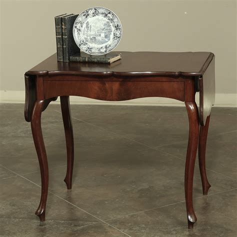 19th century louis philippe drop 19th century louis philippe period mahogany drop leaf table
