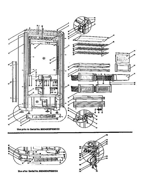 sub zero 650 parts diagram refrigerator parts sub zero refrigerator parts diagram