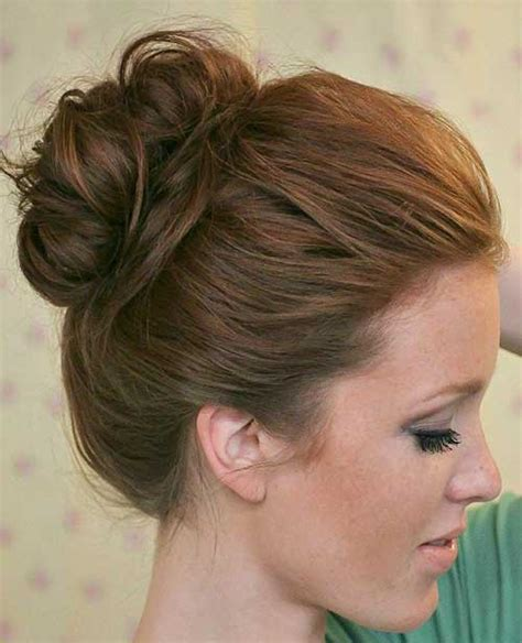 cute hairstyles in a bun 15 messy buns hairstyles hairstyles haircuts 2016 2017