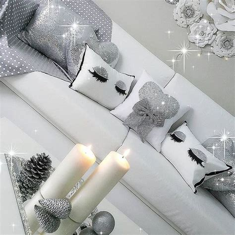 glitter home decor i adore the sparkly silver home decor home interior
