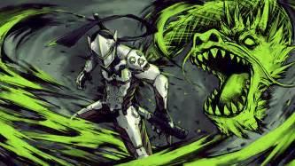Genji Dragon Overwatch Game Art Wallpaper #13618