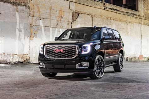 Gmc Yukon Denali Blacked Out by Gmc Debuts Yukon Denali Ultimate Black Edition Gm Authority
