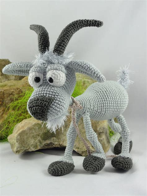 amigurumi goat pattern free amigurumi crochet pattern gus the goat from ildikko on