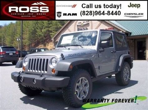 Jeep Rubicon Msrp by Sell New Brand New 2013 Jeep Wrangler Rubicon Msrp