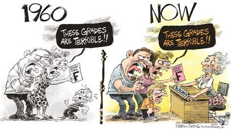 146012 600 then and now cartoons teachers darylcagle com