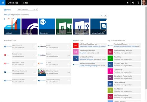 sharepoint landing page templates auditing reporting and storage improvements for