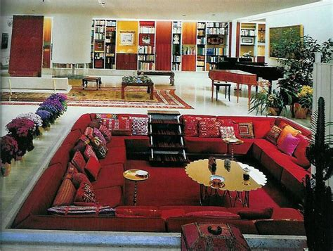 sunken living rooms couch pit retro pinterest my house the o jays and retro