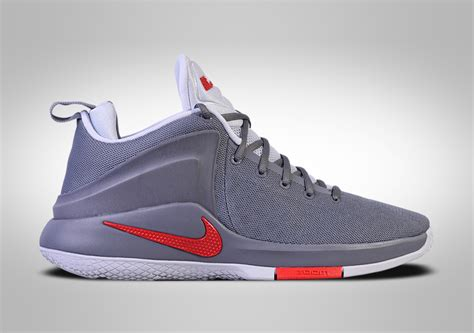 nike lebron zoom witness cool grey price  basketzonenet