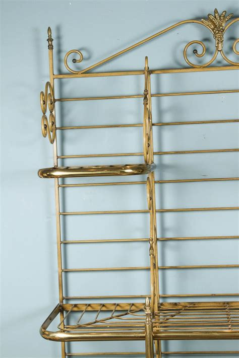 Bakers Racks For Sale French Iron And Brass Bakers Rack For Sale At 1stdibs
